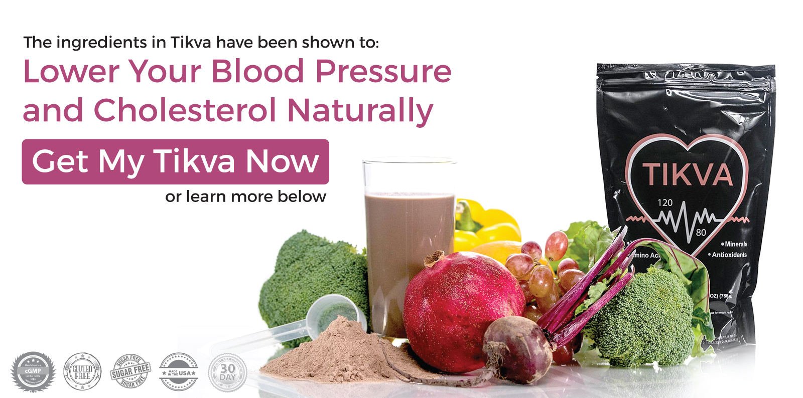 Tikva- Lower Your Blood Pressure Naturally